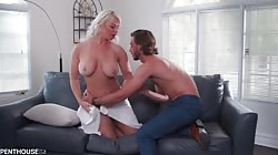 PenthouseGold London River - Busty Milf Finds A Way To Avoid Eviction